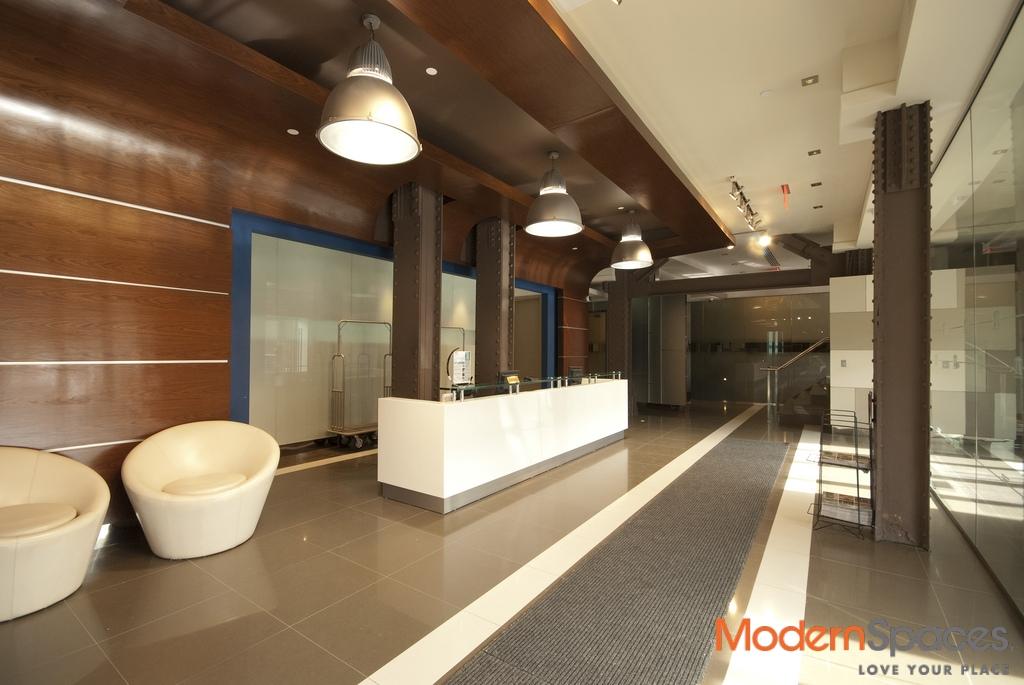 One Bedroom Duplex Home Office w/ Mezzanine 1,259sf