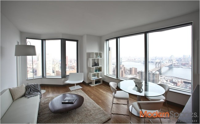 LUXURY JR  4,  1 BR + 1.5 BA + NORTHERN EXPOSURE -AVAIL IMM-