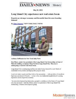 Daily News – Long Island City Experiences New Real Estate Boom