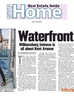 New York Post – Moderrn Spaces Waterfront on Kent in WIlliamsburg