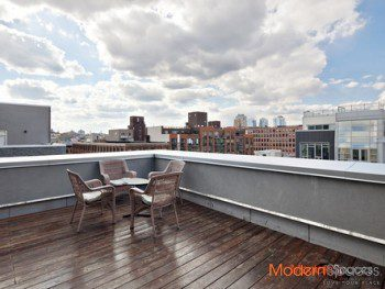 STEPES TO MCCARREN PARK – SUN DRENCHED 3 BED WITH HUGE PRIVATE TERRACE.