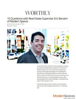 10 Questions with Real Estate Superstar Eric Benaim of Modern Spaces