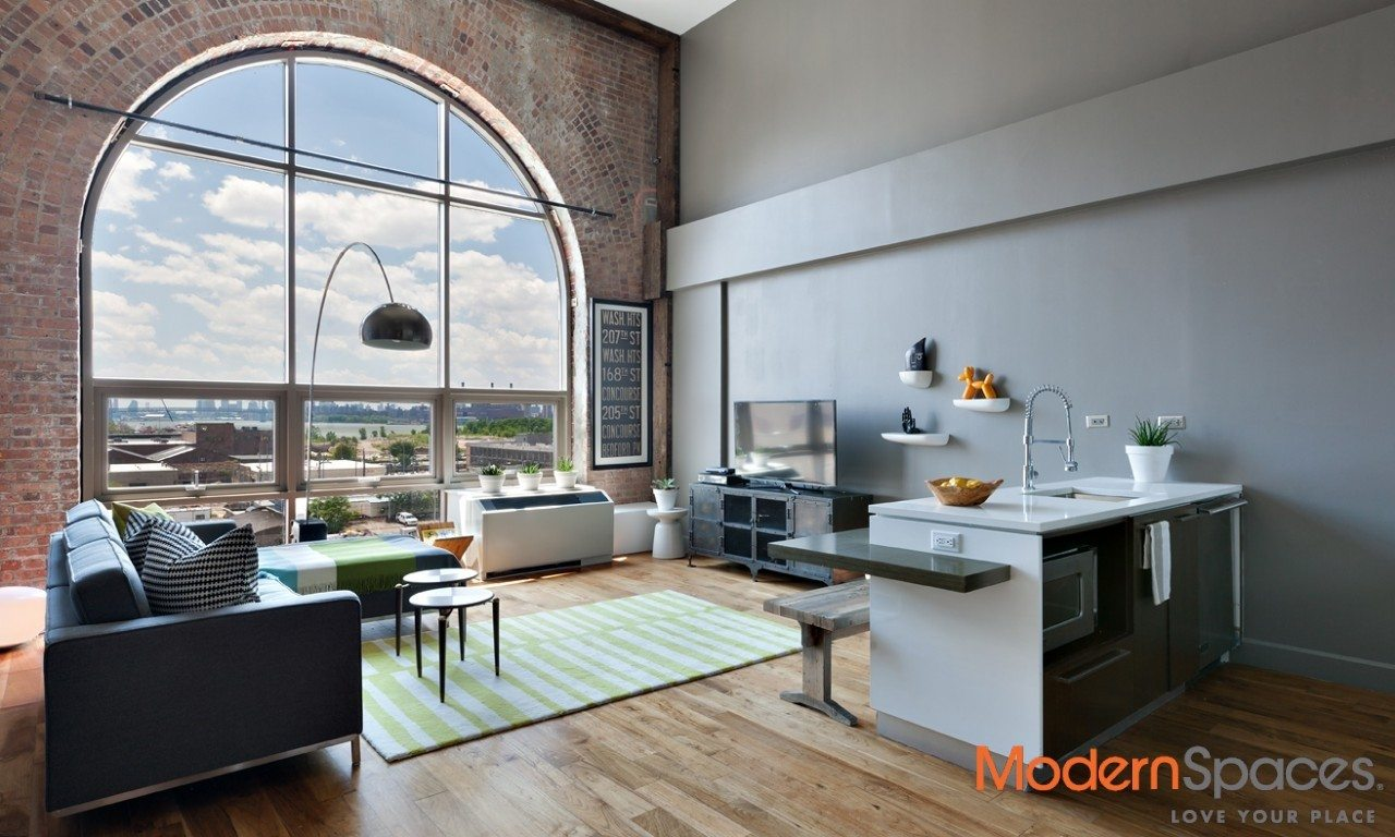 SOUTH FACING LOFT/HOME OFFICE DUPLEX - Modernspaces NYC