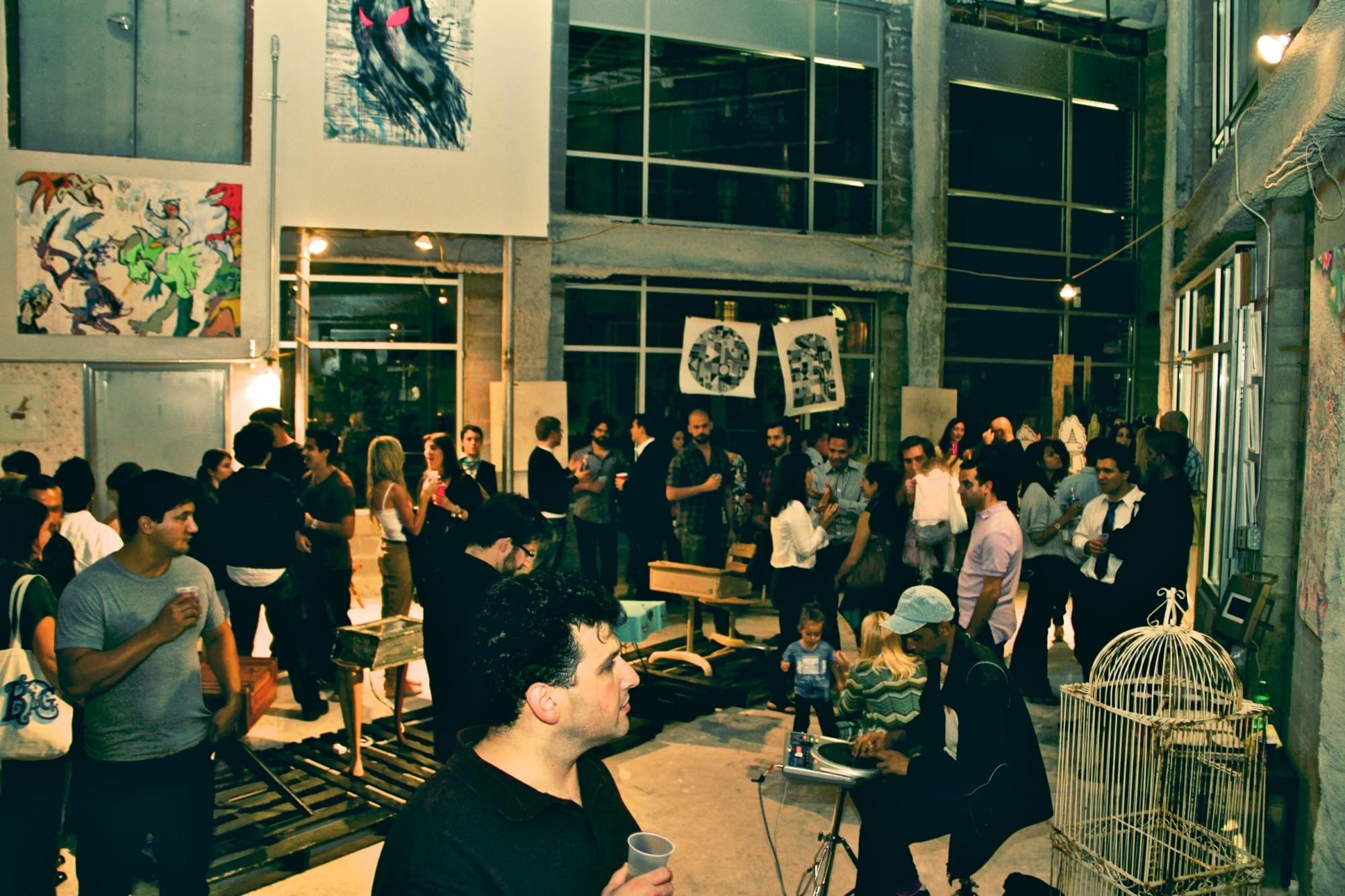 Pop Up Gallery event at Ten63 Jackson