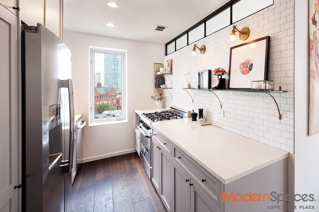 STUNNING COMPLETELY RENOVATED 2 BR + 1 BA + TERRACE + PARKING (OPTIONAL)