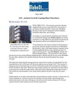 LIC, Astoria Growth Causing Buzz Elsewhere –Globe St.