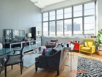 A Gorgeous Artist Lofts 1318 Sq Ft Convertible 2BR 2BA Must See