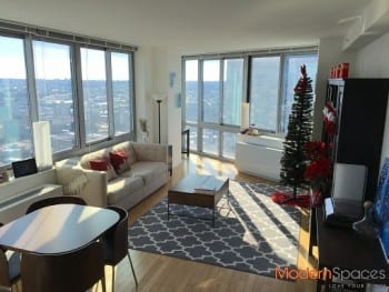 6 Months XL 1 Br rental in luxury LIC building with Panoramic Views!