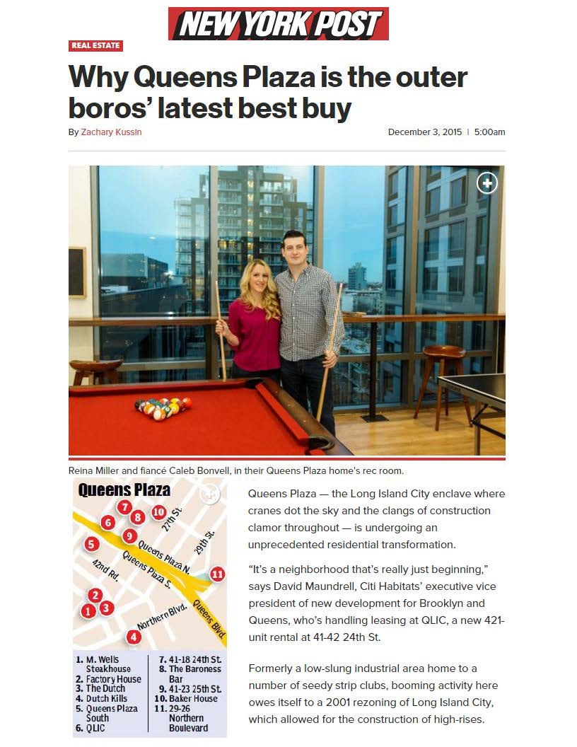 NY Post Online - Why Queens Plaza is the Outer Boros' Latest Best Buy 12.3.15_Page_1