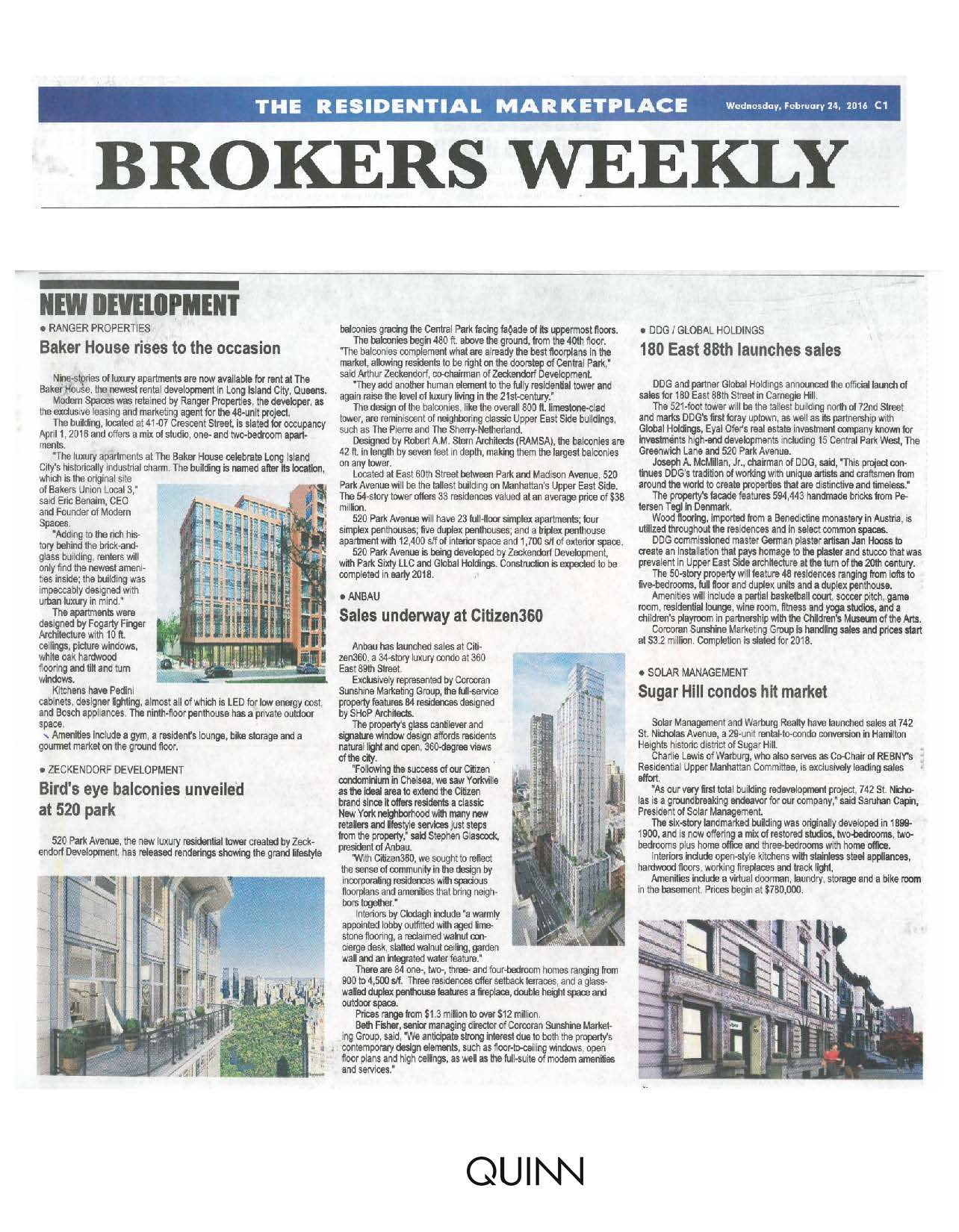 Real Estate Weekly - Baker House rises to the occasion - 02.24.16 (2) (2)