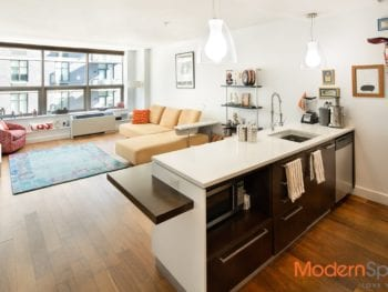 Coveted 1 Bed / 2 Bath with Home Office at Popular Powerhouse