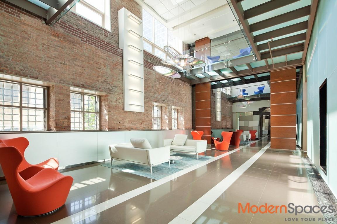 Beautiful Brickwork Brings 2BR/2BA Elemental Elegance at The Powerhouse