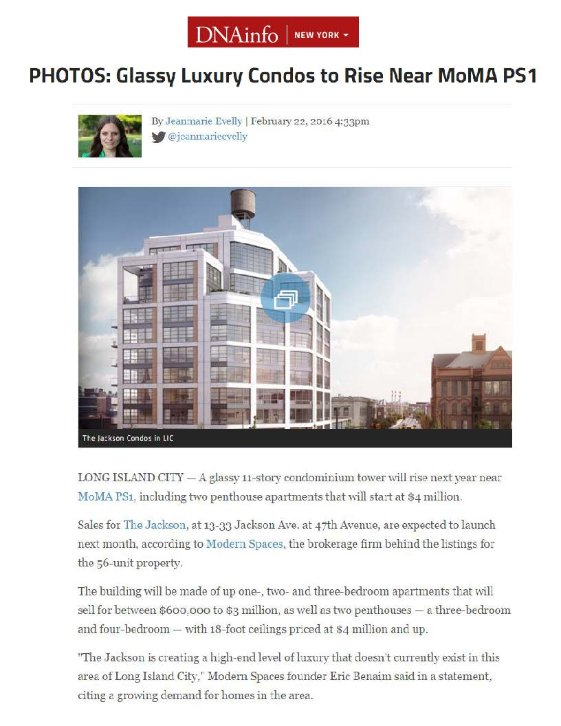 DNAinfo - Photos, Glassy Luxury Condos to Rise Near MoMa PS1 - 02.22.16_Page_1