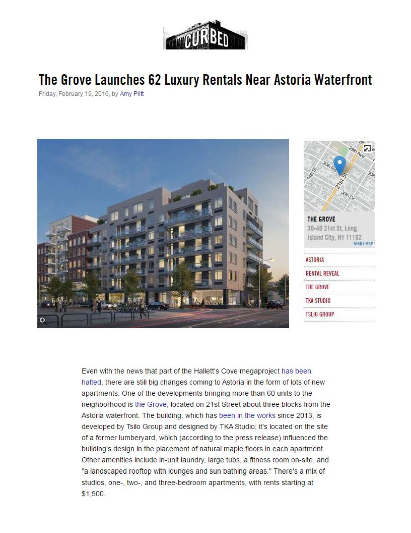 Curbed NY - The Grove Launches 62 Luxury Rentals Near Astoria Waterfront..._Page_1