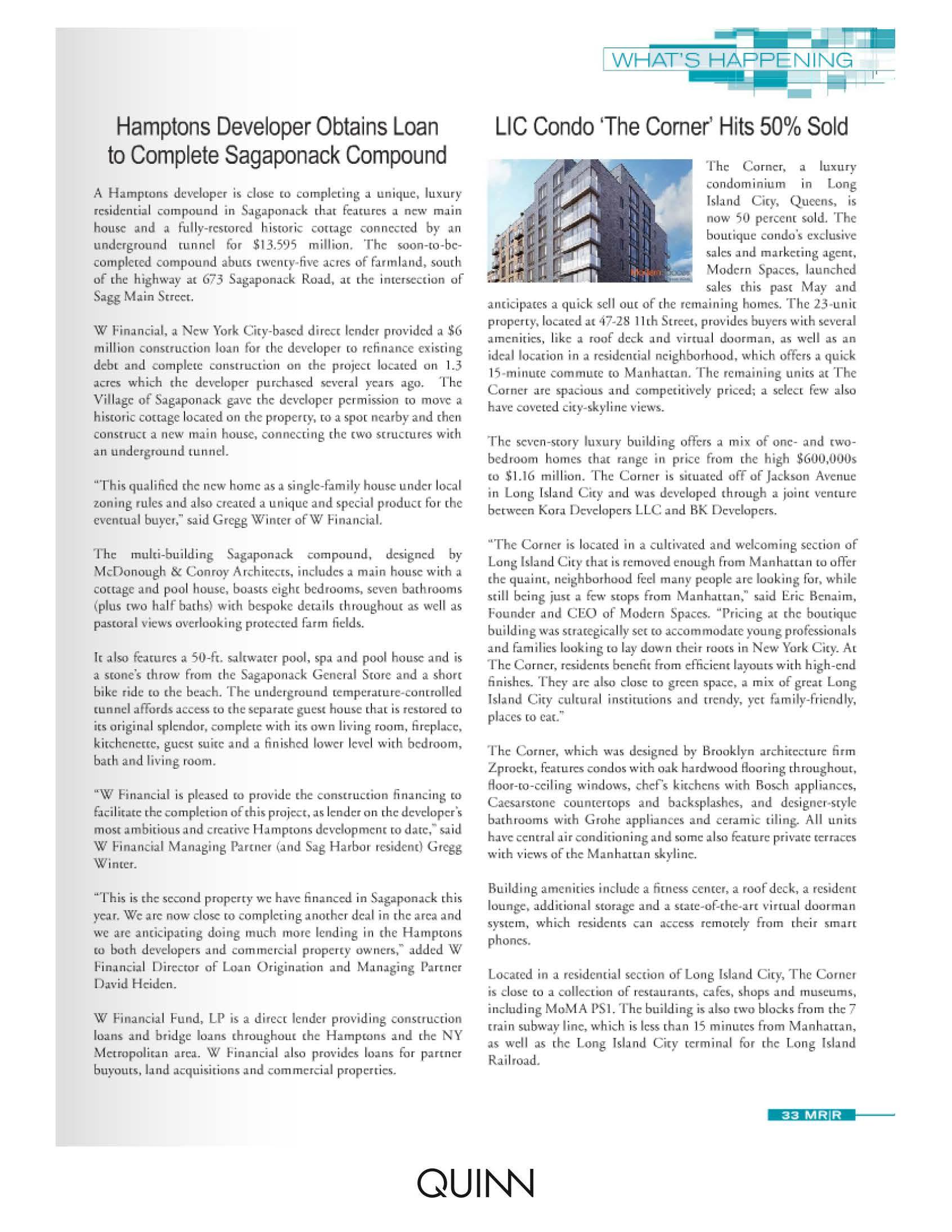 Mann Report - LIC Condo 'The Corner' Hits 50% Sold - 2.1.16_Page_2