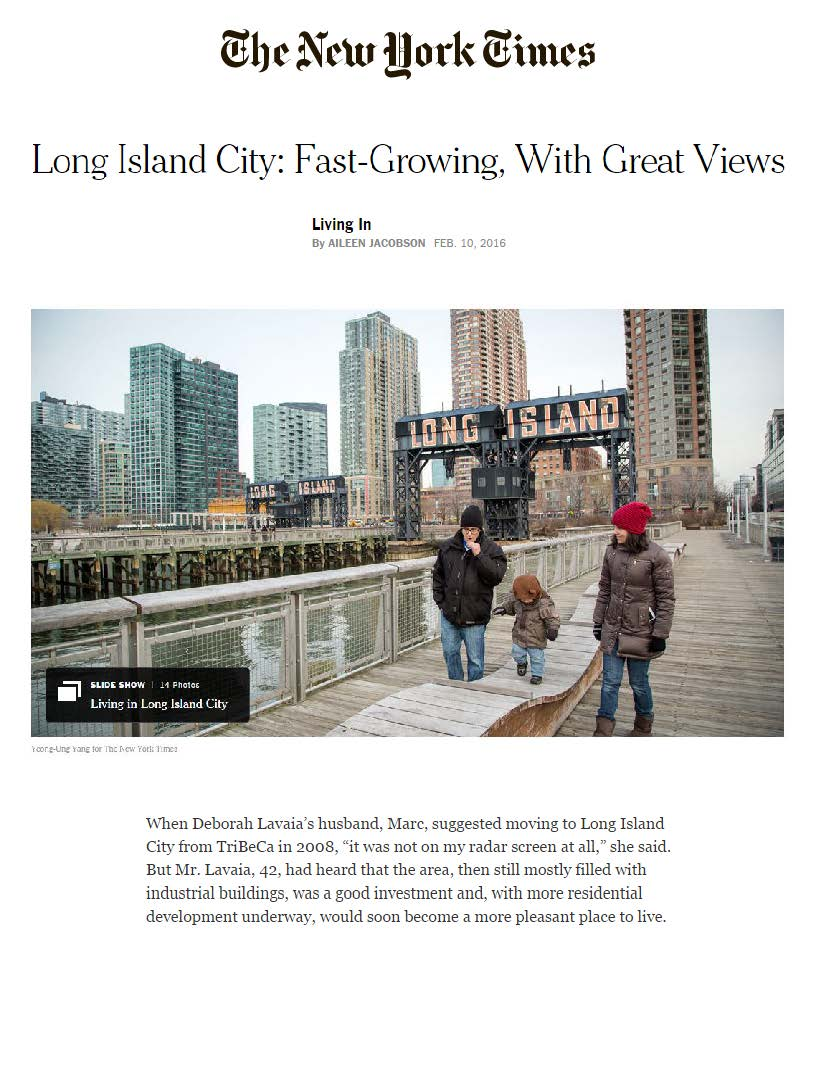 New York Times - Long Island City Fast-Growing, With Great Views - 02.10..._Page_1