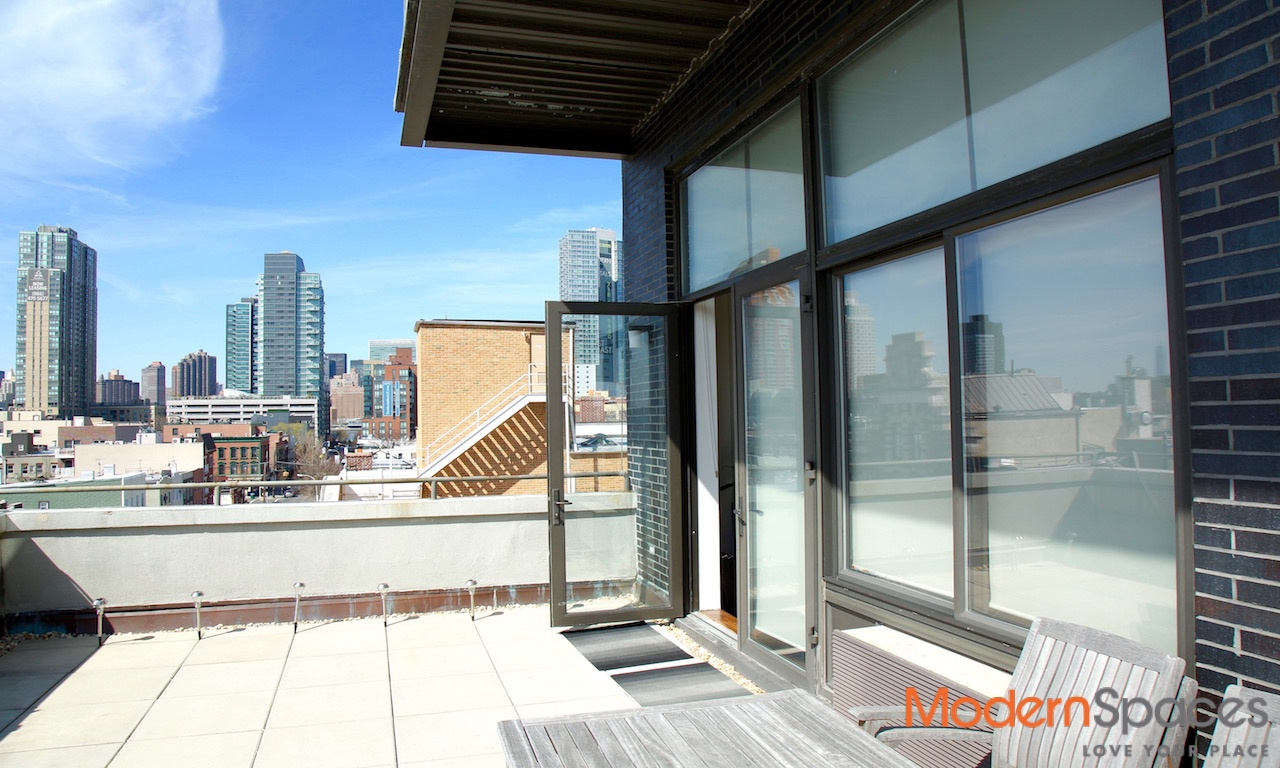 RARE GEM – LOFT LIKE 2 BED/2 BATH WITH TERRACE AND PARKING