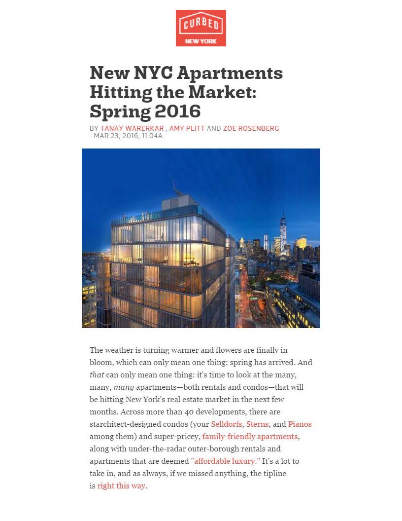 Curbed NY - New NYC Apartments Hitting the Market Spring 2016 - 03.23.16 (1)_Page_1