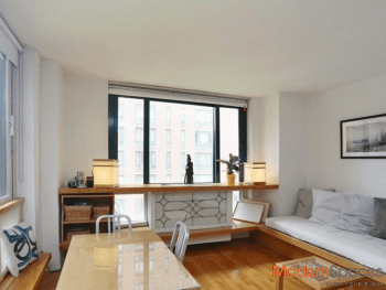 Desirable corner ALCOVE converted to 1BR with windows all around