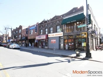 * 1500 sqft Retail Space on Broadway near subway * Vented w/ Basement