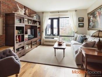 Beautiful 2 bedrooms 2 baths condominium rental at the Bindery, Long Island City