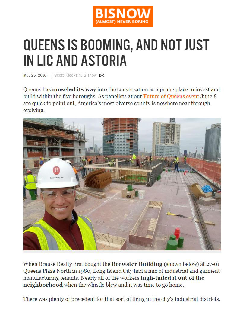 Bisnow - QUEENS IS BOOMING, AND NOT JUST IN LIC AND ASTORIA - 5.25.16 (1)_Page_1