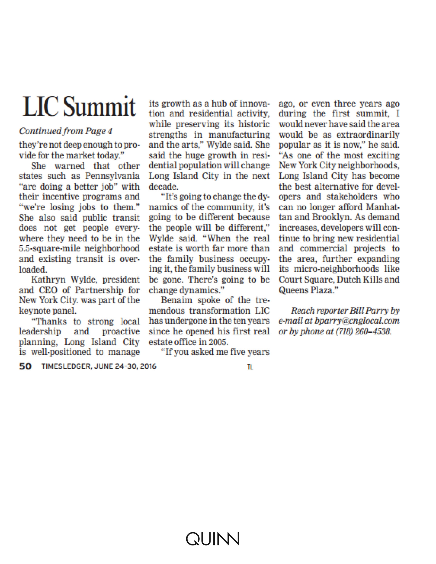 TimesLedger - LIC Summit told biz survey finds 87% plan to stay in nabe - 6.24_Page_2