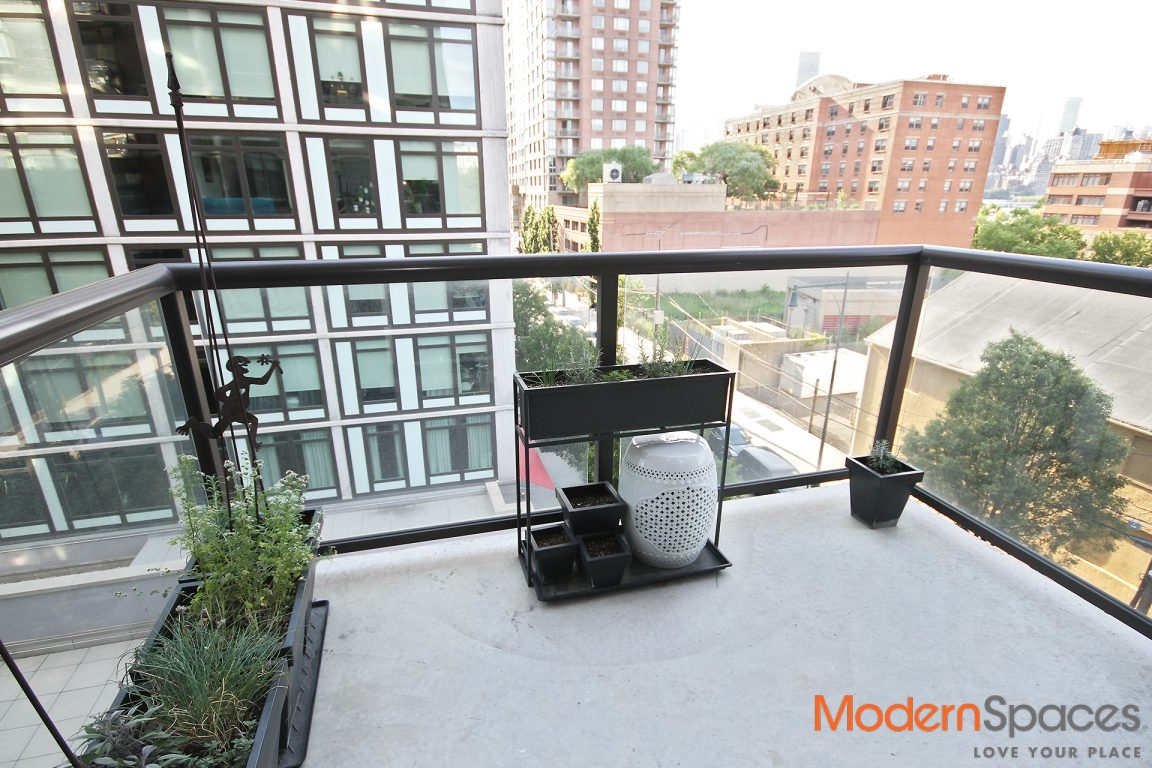 Large Corner One Bedroom with Balcony in LIC