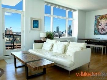 Spectacular Sun Soaked 2BR/2BA + Balcony with Manhattan Views