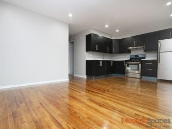 Gut Renovated- Extremely Large 3 BR – 1 1/2 Bath – Prime Astoria