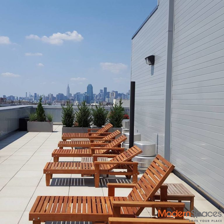 Modern 1 Bed 1 Bath – Roof Deck, Laundry On site, Virtual Doorman