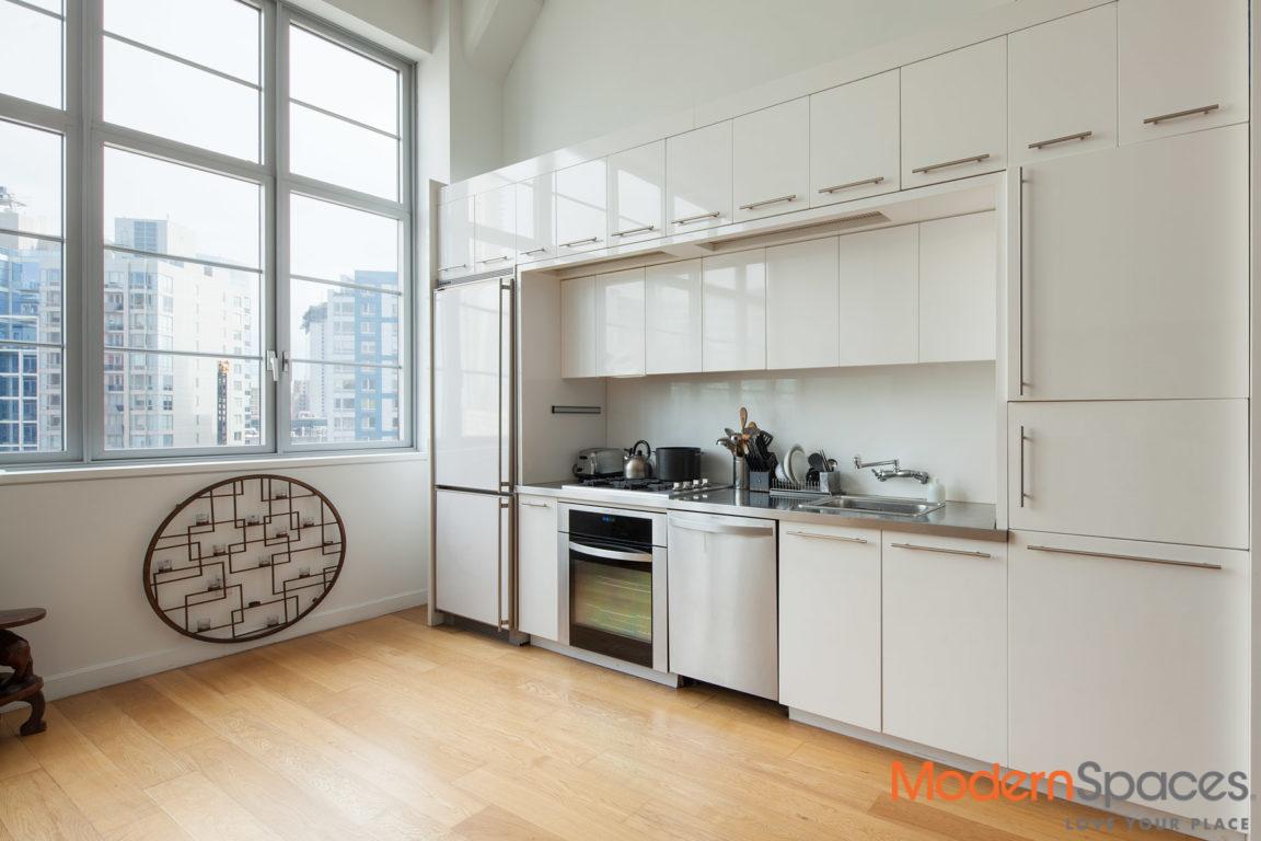 Spacious 950 SF Convertible 1BR 1.5BA Luxuary Loft Rental