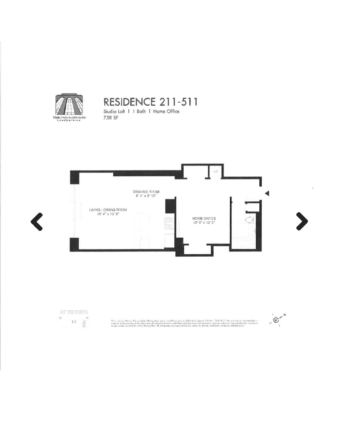 2 17 51st Avenue 511 At The Powerhouse Is A 1 Bedroom