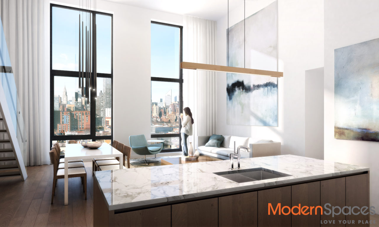The Jackson Condominium, PHA, 3 bedrooms, 3 baths with 18″ ft ceiling height and open city views