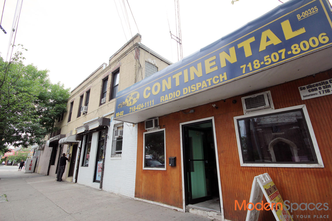 * Mixed Use Corner Brick Building * 4 Retail Stores & 2 Apartments !