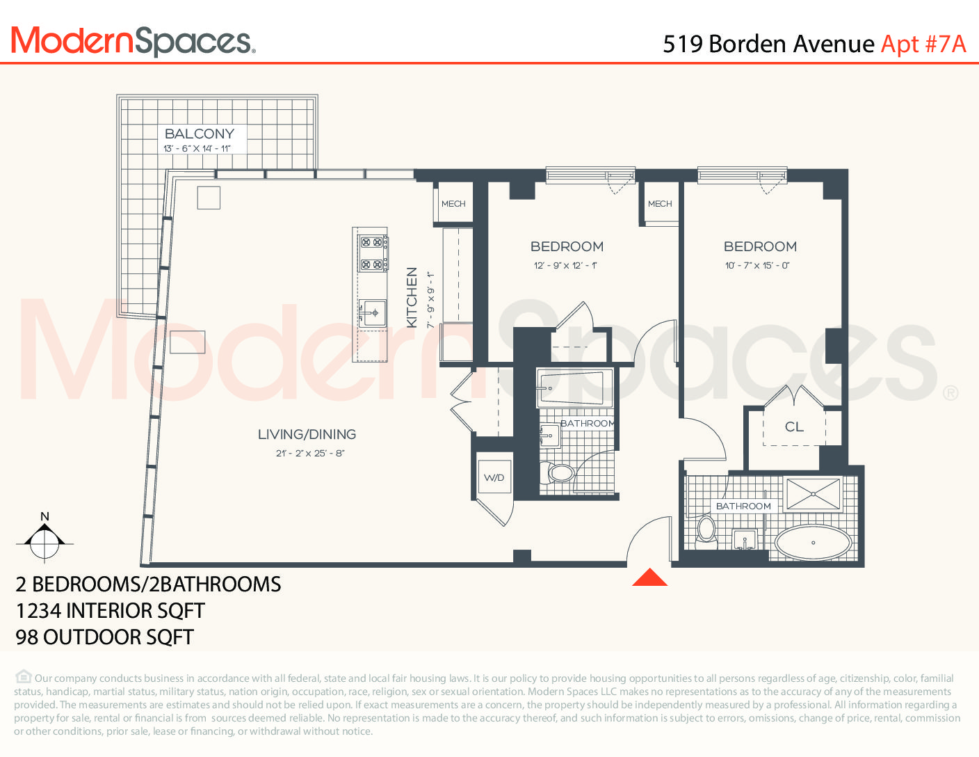 Luxury High Floor 2 Bed with Views in the Murano Condo