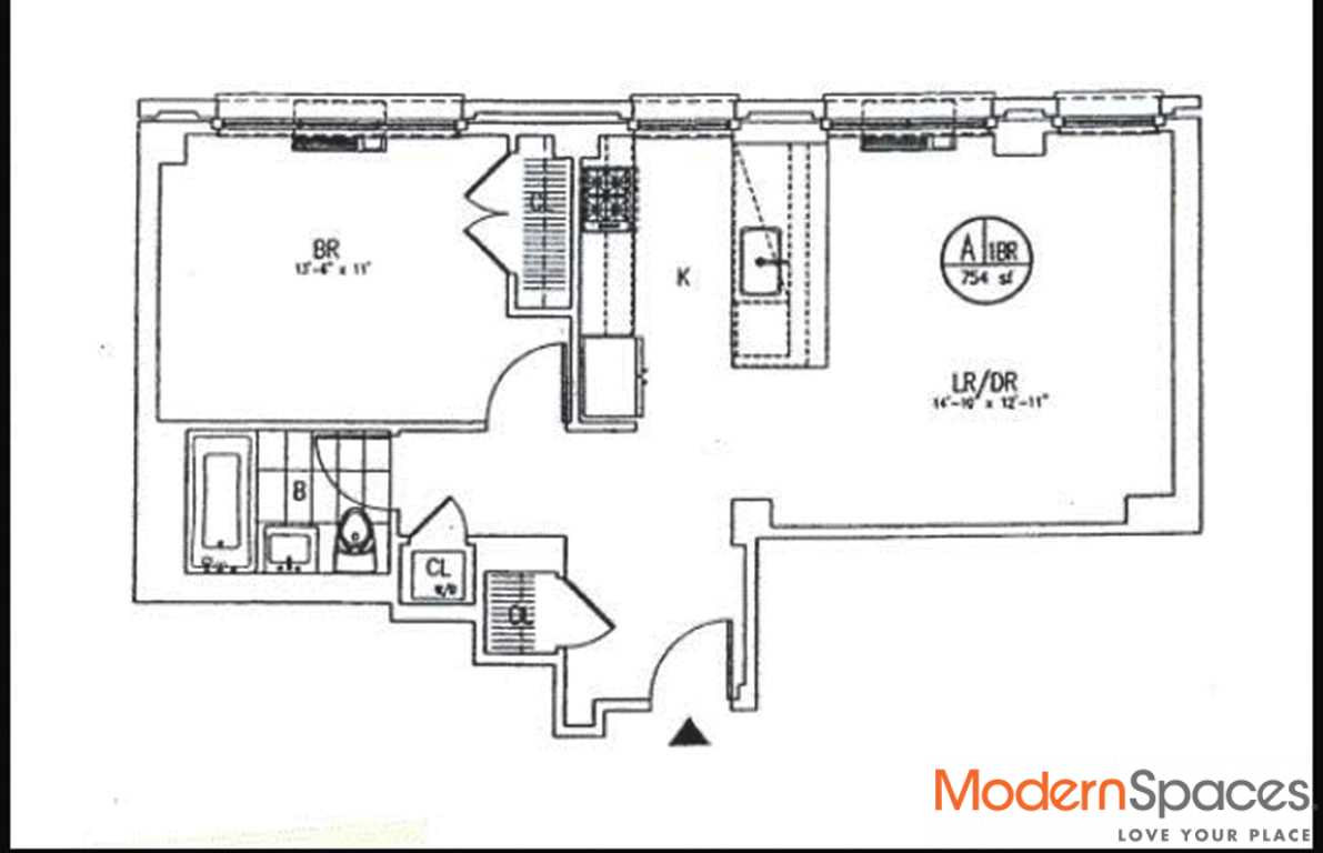 Close to Waterfront 1Bedroom Rental in Townhouse Setting at 5SL