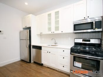 Totally gut-renovated 3 bedroom apartment 2 full bathrooms