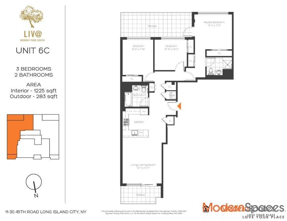 New To Market 3Bed/3Bath/2 Private Terrace
