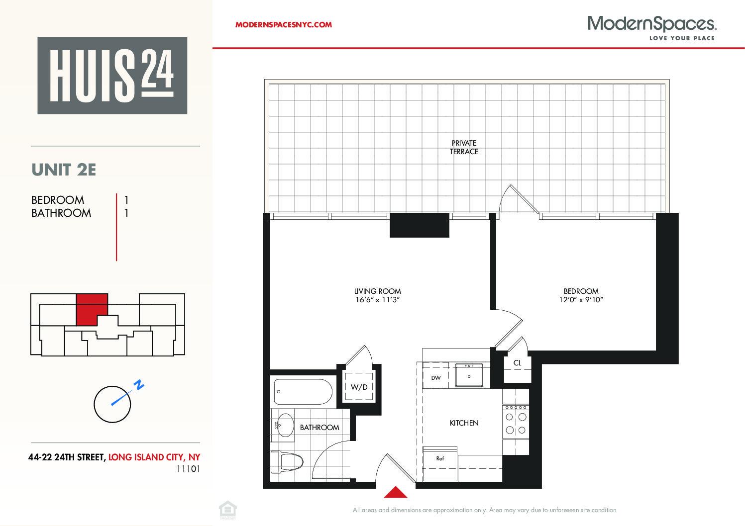 Huis24 #2E w/Huge Terrace