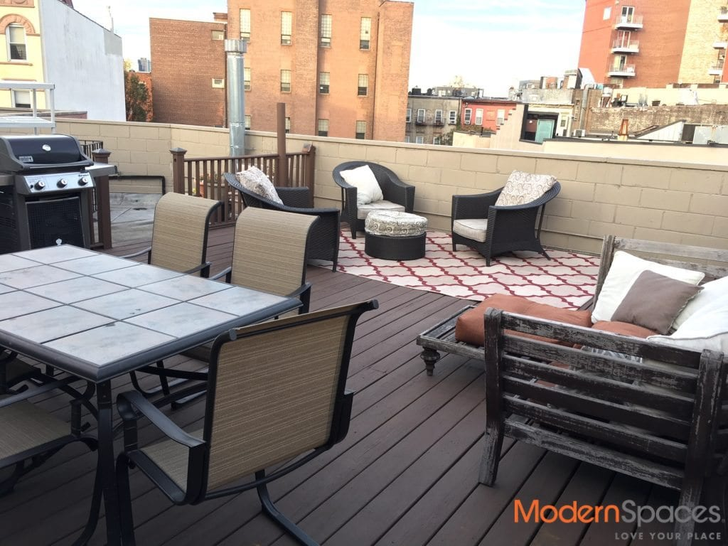 Exceptional 2 BR + 2 BA + Private Roof Deck W/Grille
