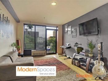 GORGEOUS SUNFILLED SOUTH FACING 1 BED 1.5 BATH W/ BALCONY