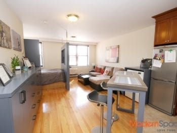 *Large and Sunny Studio*  Custom Kitchen w/ Dishwasher *