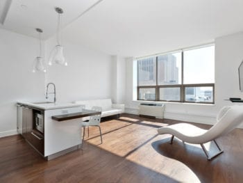 758 SF. South Exposure Studio\Home Office-Convertible 1BR Rental at Powerhouse