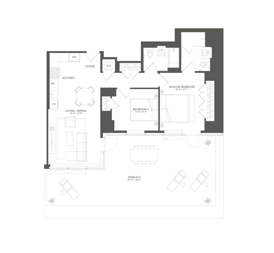 Tower 53 Condos For Sale And Condos For Rent In Manhattan: 23-15 44th Drive, 708 At Skyline Tower Is A 2-bedroom
